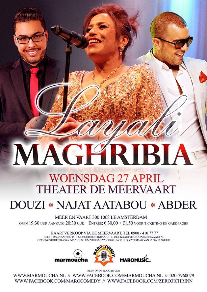 flyer Layali Maghribia